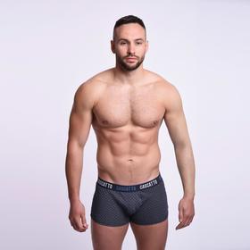 Трусы мужские боксеры, цвет тёмно-серый, размер 46 (M)
