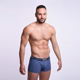 Трусы мужские боксеры, цвет джинсовый, размер 50 (XL)