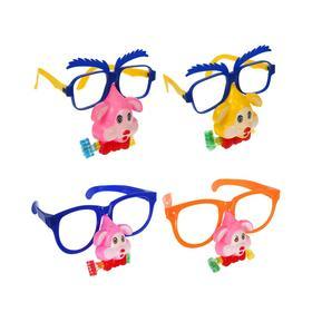 Карнавальные очки «Собачка», с носом и язычком, виды МИКС