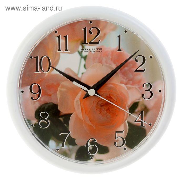 "Часы настенные круглые ""Розочка"""