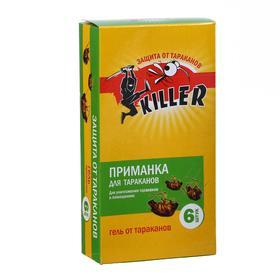 """Приманка от тараканов """"Киллер"""", 6 шт"""