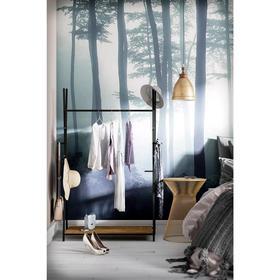 Вешалка гардеробная «Фелтон», 1130 × 500 × 1160 мм, цвет дуб американский