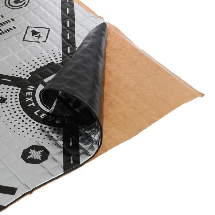 Виброизоляционный материал TECHNIK NEXT 4, размер: 4х500х700 мм
