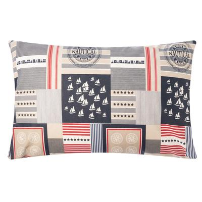 "Ethel pillowcase 50*70cm ""Captain"", 100% cotton,calico,125 g/m2"