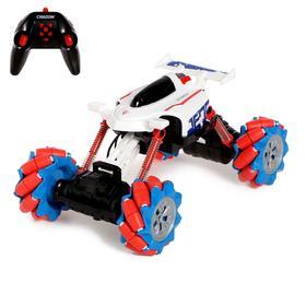 Машина радиоуправляемая «Джип-акробат», 4WD полный привод, движение во всех направлениях, МИКС