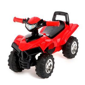 Толокар «Квадроцикл», цвет красный