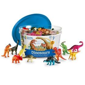Игровой набор фигурок «Динозавры», 60 элементов
