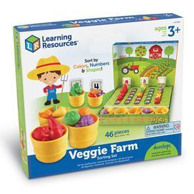 Набор для сортировки «Выращиваем овощи», 46 элементов