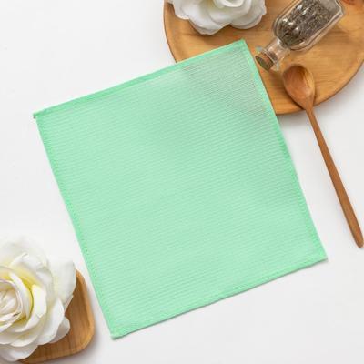 Towel Share 30*30± 3 cm, Col. light green, 100% cotton, 150 gr/m2