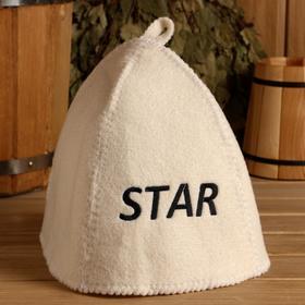 Банная шапка с вышивкой 'Star' Ош