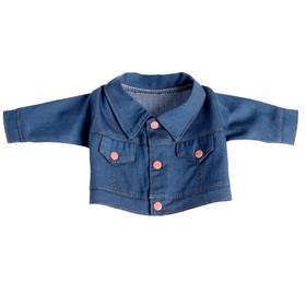 Одежда для кукол «Курточка джинсовая»