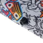 """Папка А1 с ручками, текстиль, 920 х 680 х 40 мм """"Вдохновение"""", с карманом """"Граффити"""" - фото 749859"""