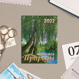 """Календарь на магните, отрывной """"Природа 4"""" 2022 год, 10х13 см"""