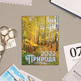 """Календарь на магните, отрывной """"Природа 3"""" 2022 год, 10х13 см"""
