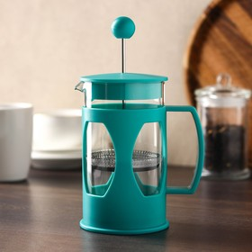 French press 600 ml Oliver, turquoise
