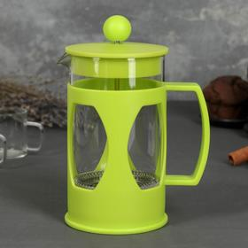 French press 600 ml Oliver, green