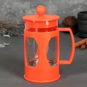 French press 600 ml Oliver, orange