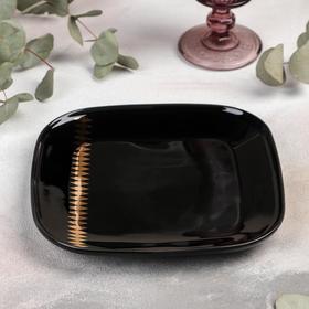 {{photo.Alt || photo.Description || 'Тарелка квадратная «Зигзаг», 20,5×2,3 см, цвет чёрный'}}