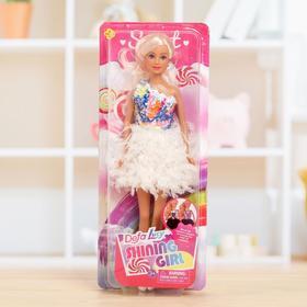 Кукла модель «Эльза» в платье, МИКС
