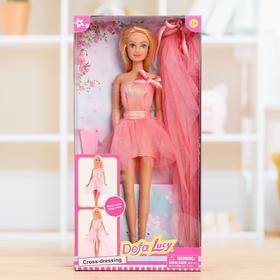 Кукла модель «Алла» в платье 2 в 1, МИКС