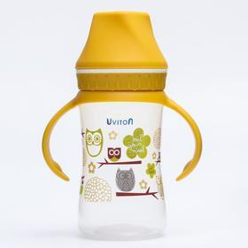 Бутылочка для кормления, с широким горлышком, 250 мл., цвет МИКС