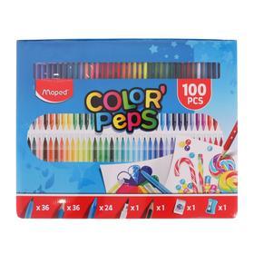Набор для рисования 100 предметов, Maped Color Peps Kit