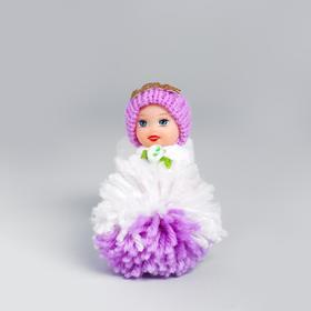 Кукла «Катя», на подвесе, цвета МИКС