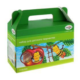 Набор для детского творчества «Гамма» «Пчелка», 5 предметов, в подарочной коробке