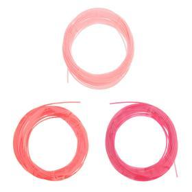 Пластик PCL для 3D ручки, длина: 5 м, цвета красного МИКС Ош