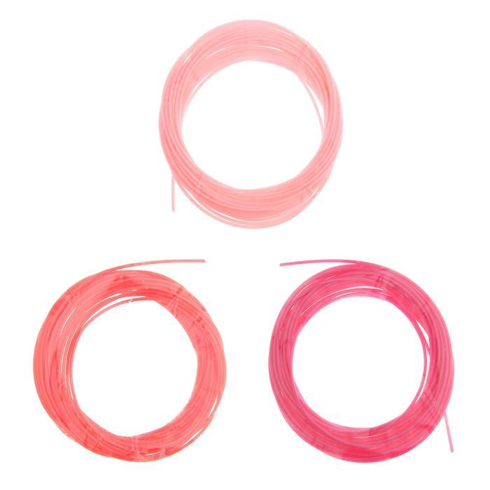 Пластик PCL для 3D ручки, длина: 5 м, цвета красного МИКС