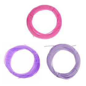 PCL for 3D plastic handle, length 5 m, color purple MIX
