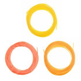 Пластик PCL для 3D ручки, длина: 5 м, цвета желтого МИКС Ош