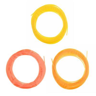 PCL for 3D plastic handle, length 5 m color yellow MIX