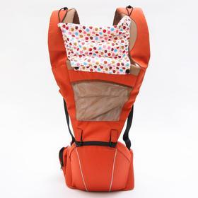 Рюкзак-кенгуру/хипсит, с капюшоном, цвет светло-коричневый