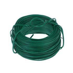 Проволока подвязочная, 50 м, d = 1,2 мм, зелёная, Greengo Ош