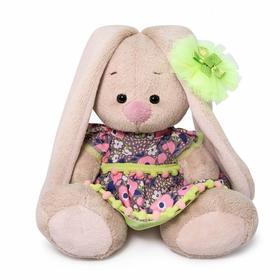 Мягкая игрушка «Зайка Ми в летнем платье», 15 см