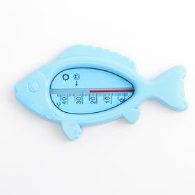 """Термометр для ванной """"Рыбка"""", цвет голубой"""