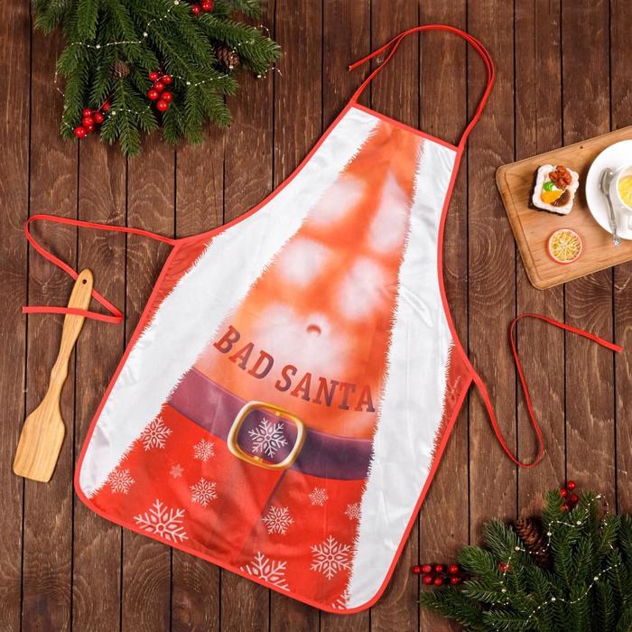Фартук Новый год Real Bad Santa 50 х 70 см