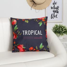 Наволочка декоративная «Этель» Tropical, размер 40х40 см