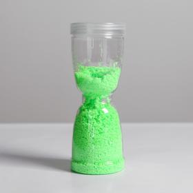 Масса «Живая» серия песочные часы, 30 г, цвет зеленый