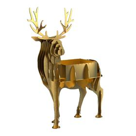 Мангал BOYSCOUT «Олень» GOLD,  стационарный 120х80х150 см