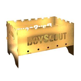 Мангал BOYSCOUT складной GOLD, 500х300х300х1,5 мм, с сумкой