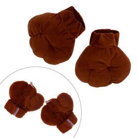 Лапки животного на резинке, 3-6 лет, цвет коричневый Ош