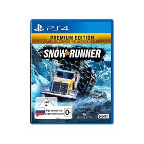 Игра для Sony Playstation 4 SnowRunner Premium издание