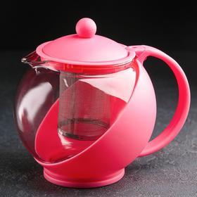 {{photo.Alt || photo.Description || 'Чайник заварочный «Домашний», матовый, с металлическим ситом, 1,25 л, цвет МИКС'}}