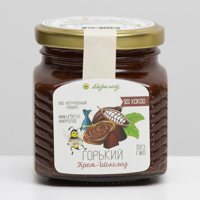 Урбеч, Крем-шоколад горький 230 г. - фото 20782