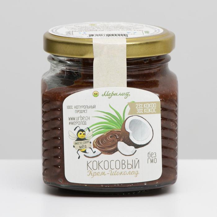 Урбеч, Крем-шоколад кокосовый 230 г. - фото 20785
