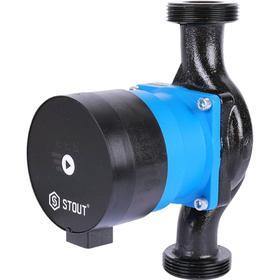 Насос циркуляционный STOUT mini SPC-0002-2580180, 25/8-180, 50 Вт, напор 8,2 м, 72 л/мин