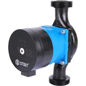 Насос циркуляционный STOUT mini pro SPC-0003-2580180, 25/8-180, 50 Вт, напор 8,2 м, 72 л/мин