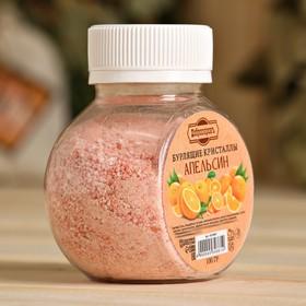 """Бурлящие кристаллы """"Добропаровъ"""" из гималайской соли с эфирным маслом апельсина, 100 гр - фото 7247218"""